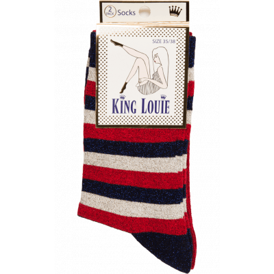 Foto van King Louie sokken bamboe lapiscine
