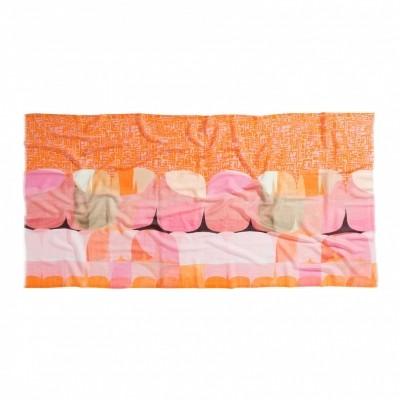 Foto van Oilily sjaal wol 90x180 cm oranje pink