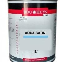Foto van Bouhuys aqua satin zijdeglans wit 1 Liter