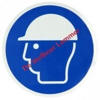 Foto van Pickup pictogram veiligheidshelm verplicht