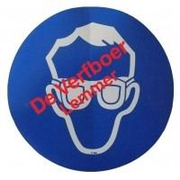 Foto van Pickup pictogram oogbescherming dragen