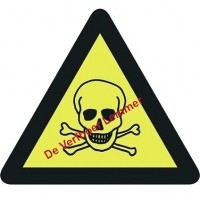 Foto van Pickup pictogram giftige stof