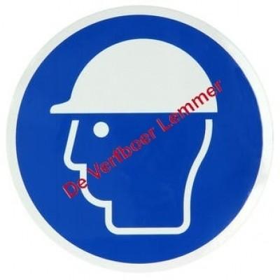 Pickup pictogram veiligheidshelm verplicht