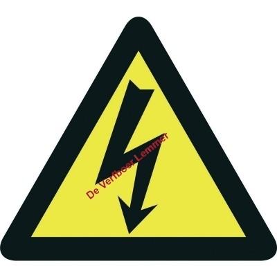 Pickup pictogram elektrische spanning