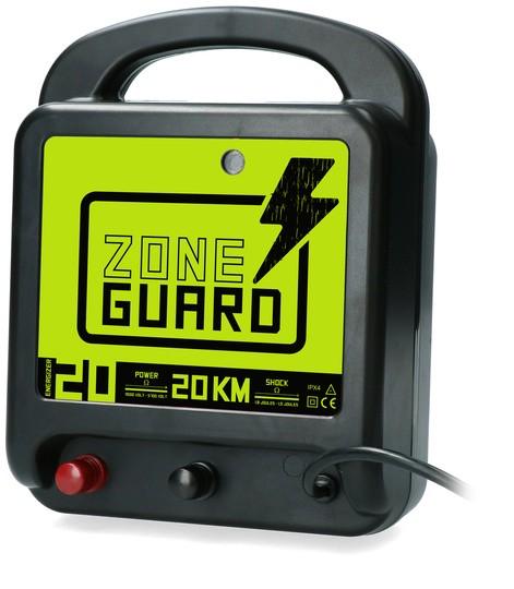 ZoneGuard schrikdraadapparaat lichtnet 20 km