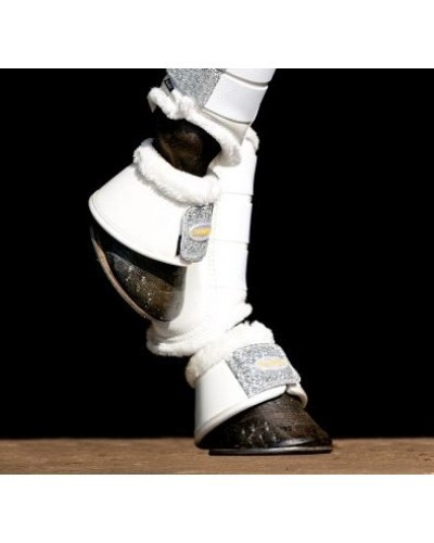 Showtime springschoenen glitter wit