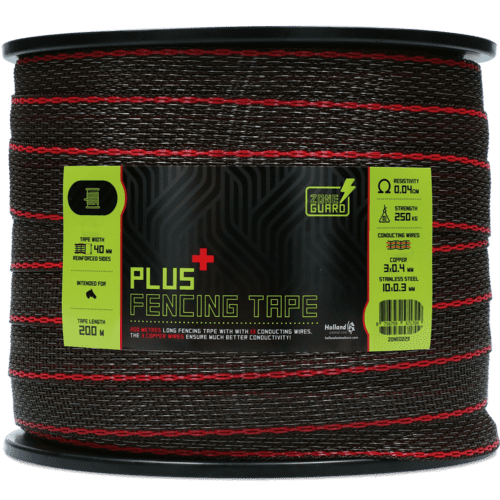 ZoneGuard Plus afrasteringslint 40mm bruin 200 m