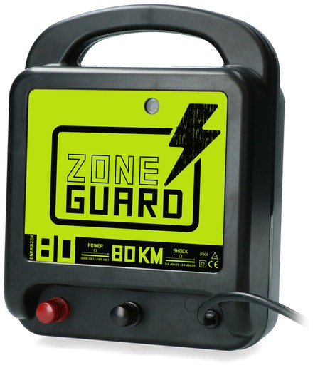 ZoneGuard schrikdraatapparaat lichtnet 80 km