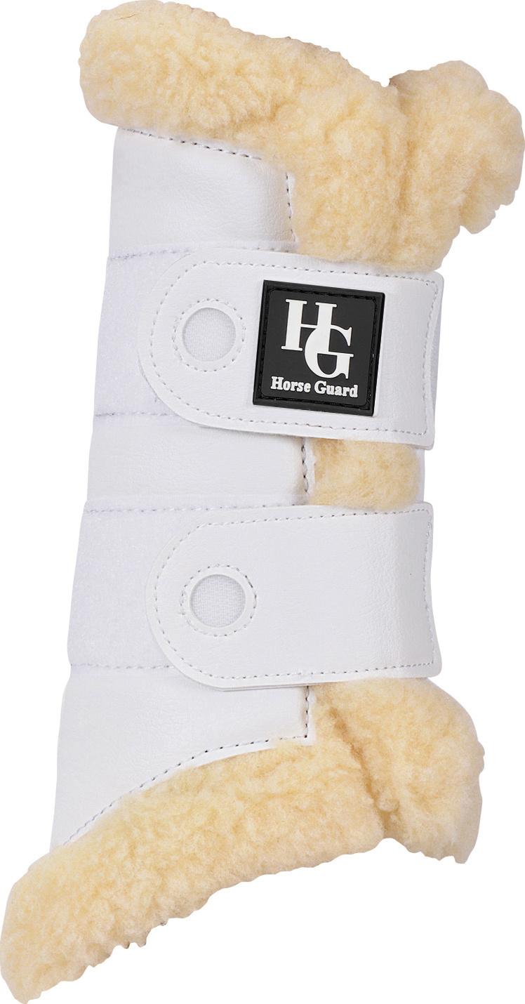 Horse Guard Fur Boots