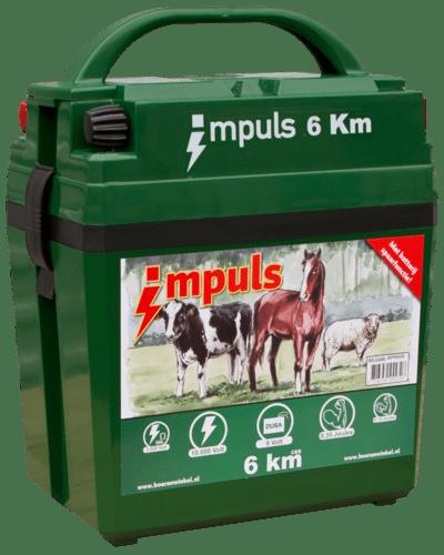Batterij apparaat Impuls 6 km