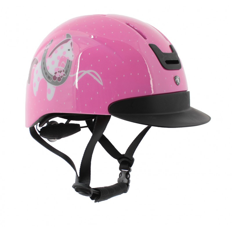 Veiligheidshelm Horsy pink