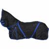 Afbeelding van CATAGO staldeken met halsdeel 300gr zwart met blue