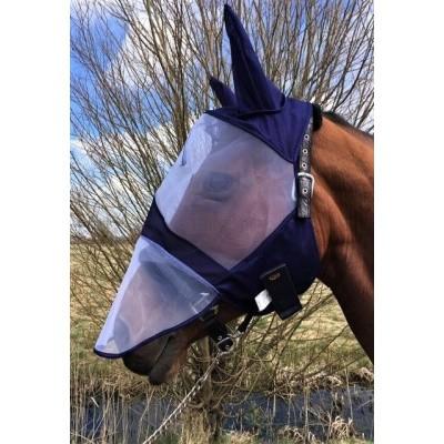 Vliegenmasker met neusbeschermer