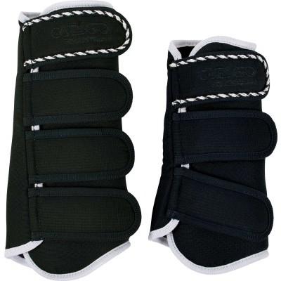 CATAGO Diamond dressage boots zwart/wit