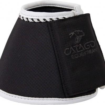 Foto van CATAGO Diamond springschoenen zwart/wit 2st