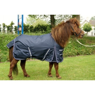 Foto van Harry en Hector pony outdoor waterdichte regendeken met fleece