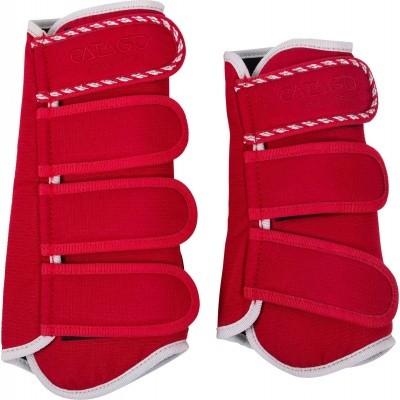 CATAGO Diamond dressage boots rood/wit