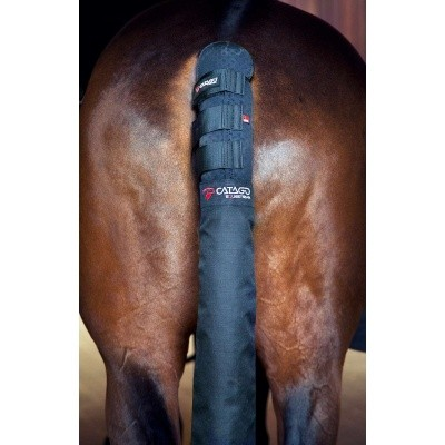Foto van CATAGO FIR TECH Healing staart beschermer met zak zwart
