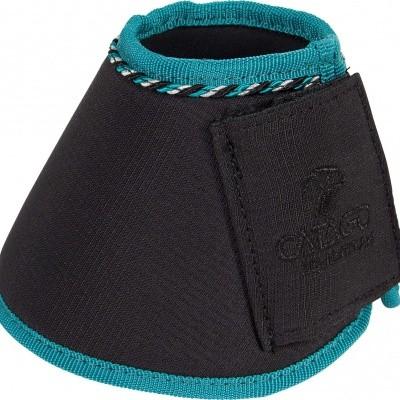 Foto van CATAGO Diamond springschoenen zwart/turquoise 2st