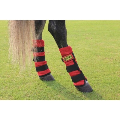 Foto van Horse Armor knockdown leg wraps one size (Insect shield)