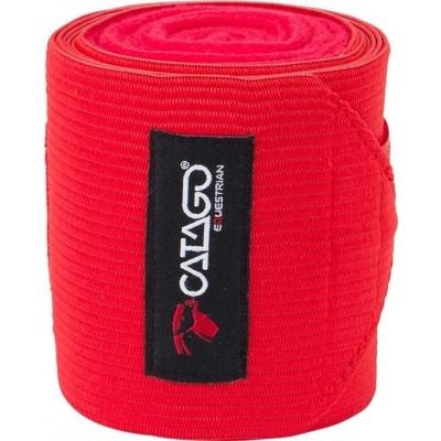 CATAGO fleece/elastic bandages rood 4st