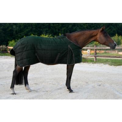 Foto van Excellent stal deken donker blauw/grijs