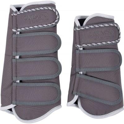 CATAGO Diamond dressage boots grijs/wit