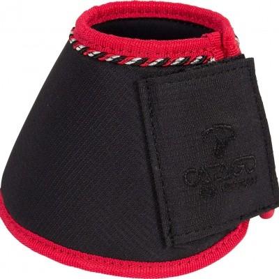 Foto van CATAGO Diamond springschoenen zwart/rood 2st