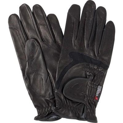 CATAGO Feel leren rijhandschoenen zwart