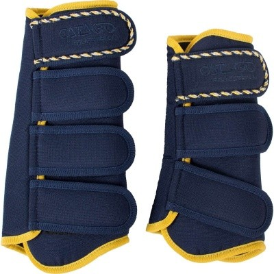 CATAGO Diamond dressage boots navy/geel