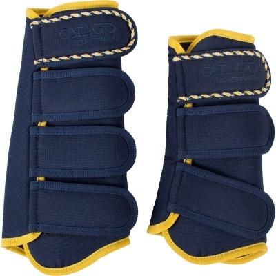 Foto van CATAGO Diamond dressage boots navy/geel