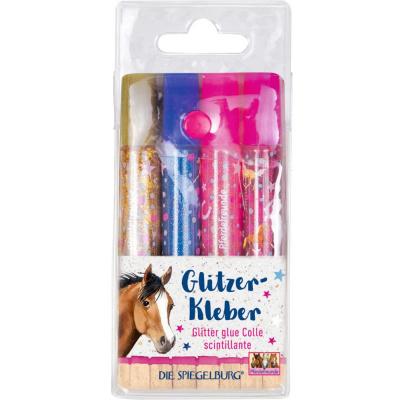 Paardenvriend glitterlijm set