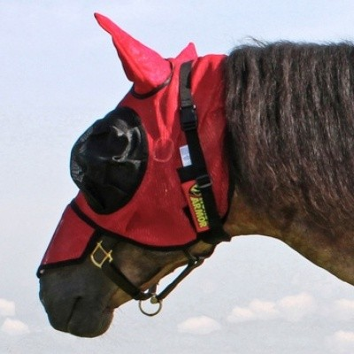 Foto van Horse Armor knockdown mask one size (Insect shield)