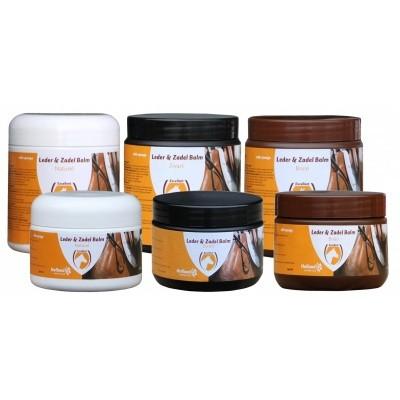 Leather Balm Brown (met spons) 150 ml