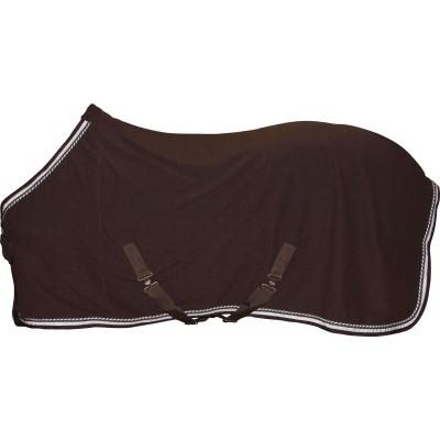 CATAGO Diamond fleece deken bruin/wit
