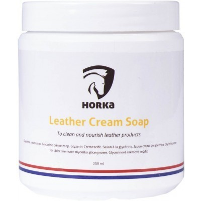 Foto van Leather cream soap