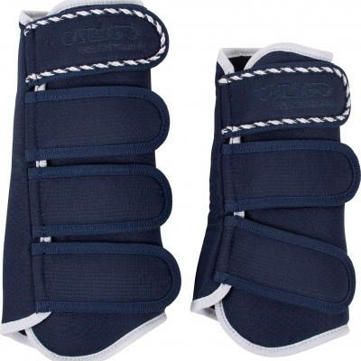 CATAGO Diamond dressage boots navy/wit
