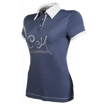 Foto van HKM dames polo shirt soft powder
