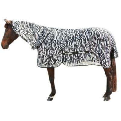 Foto van Vliegdeken Zebra incl. nekdeel