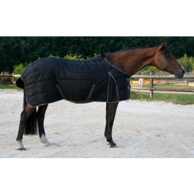Foto van Excellent stal deken zwart/grijs