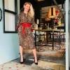 Afbeelding van Set Leopard Dress STYLE 62916