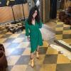 Afbeelding van Dante6 Naomi Dress Emerald green
