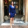 Afbeelding van Maria Tailor Devan dress Admiral blue