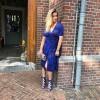 Afbeelding van Baum und Pferdgarten Adaria Dress tropically blues