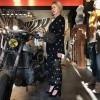 Afbeelding van Alix the Label Ladies woven dot Leopard pants black