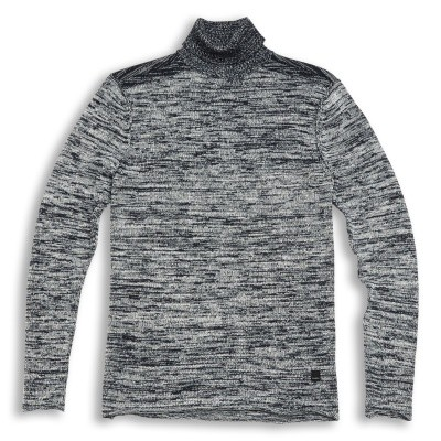 Gabba Darlem Roll neck knit Navy gemeleerd