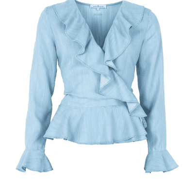 Maria Tailor Byana Top Sky light Blue