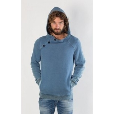 Foto van Amsterdenim Sweater DIRK Sky Blue
