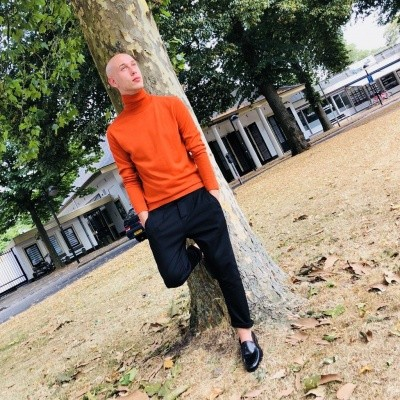 Foto van Strellson Turtle Neck Orange