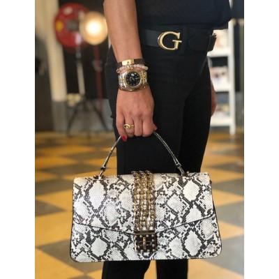 Guess Handbag PG729918 Phyton Wit